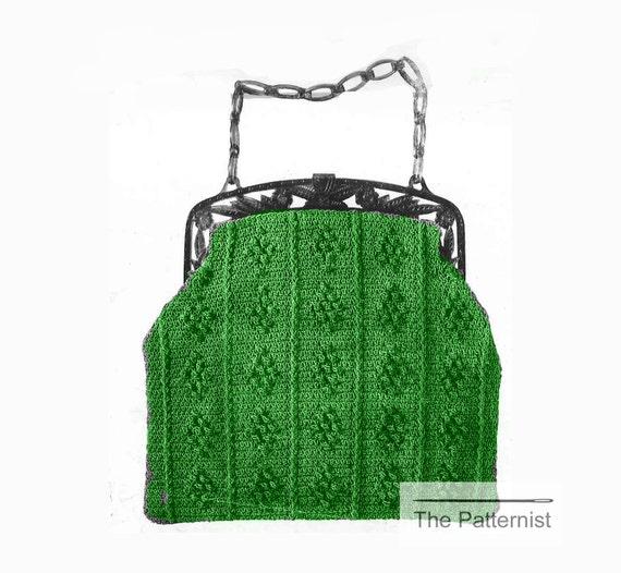 Vintage Crochet Purse Patterns eBay
