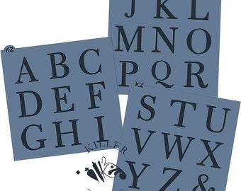 Fast Shipping!! Alphabet Stencil
