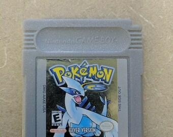 PokemonSilver Gameboy Color Great shape Works Great