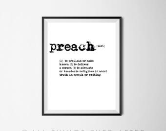 Pioneer Gift | Preach Definition | Dictionary Print |  JW | Printable | jehovah | jw org | Jehovah's Witnesses 119