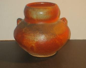Jan McKeachie Johnston Anagama Wood Fired Studio Pottery Vase, Marked
