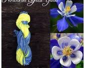 Columbine hand-dyed cotton yarn