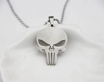 The Punisher necklace