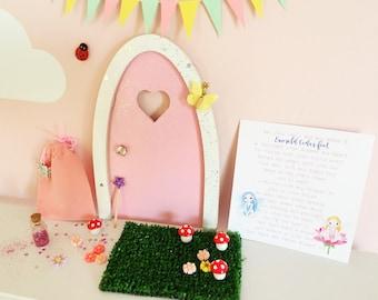 Fairy door, tooth fairy door, set with accessories