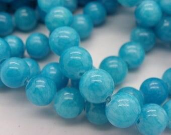 41 turquoise Malaysia 10 mm jade stone