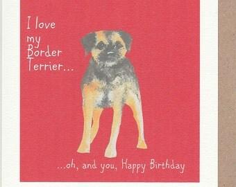 funny dog card  etsy, Birthday card