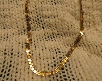 Vintage Gold Toned Monet Chain