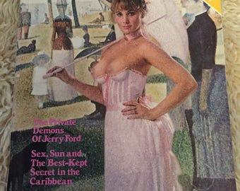 Vintage playboy magazine may 1976
