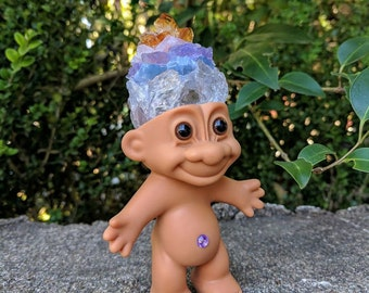 Rainbow Crystal Troll Doll
