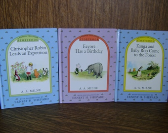 Winnie the Pooh Storybook, Eyore Has a Birthday, Christopher Robin leads an Expotition, Kanga and Baby Roo Come to the Forest,