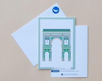 Milan Icons Greeting Cards-Galleria Vittorio Emanuele II-Milan