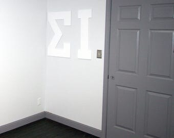 large wall letter letterman or greek letter 30