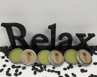 Relax Anti-Anxiety Salve  Happie Coconut
