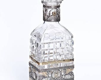"""Silver Decanter """"Gryphon"""""""