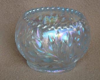 Vintage Carnival Glass Votive Candleholder