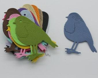 Bird Sparrow: lot of cut die - cut
