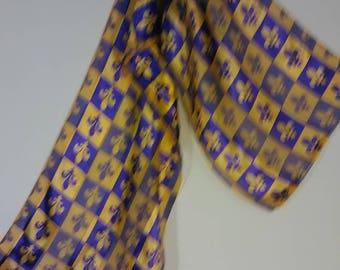 57.  Pretty vintage scarf