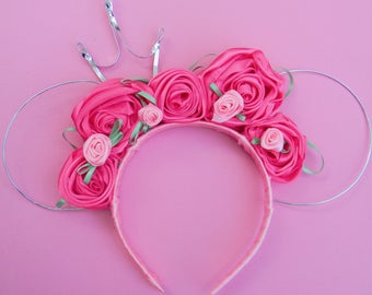 Pink floral Wire
