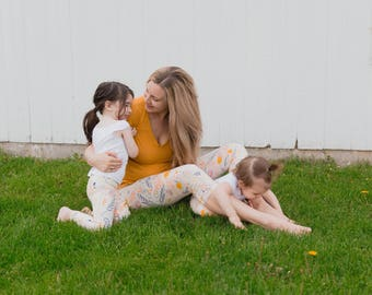 mommy and me outfits - baby girl clot - mommy and me leggings - mothers day gift - gift for new mom - matching outfits