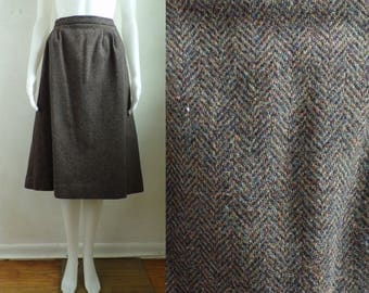Wool skirt size 16 | Etsy