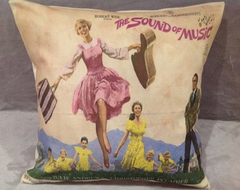 The Sound Of Music film poster cushion/pillow
