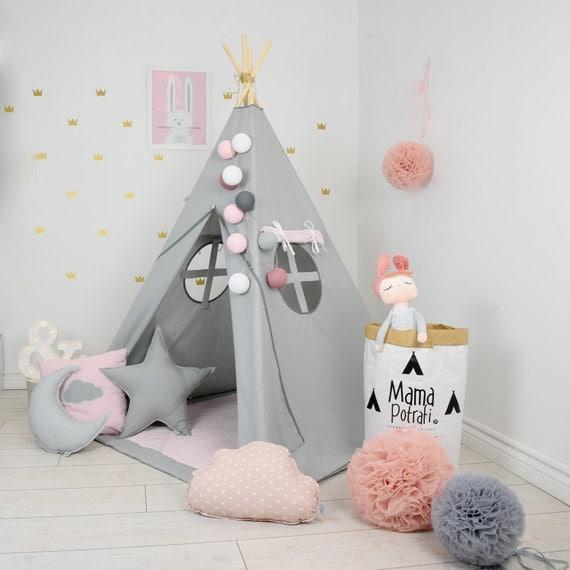 Like this item? & Childrens teepee playtent tipi zelt wigwam kids teepee