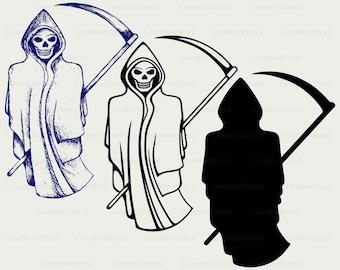 Reaper clipart | Etsy
