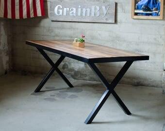 Black Walnut Butcher Block Desk or Dinning Table