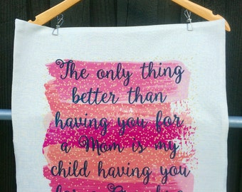 The Only Thing Better - My Child Having You for a Grandma Pillow Cover
