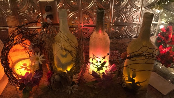 Fairy Lamp Bottle