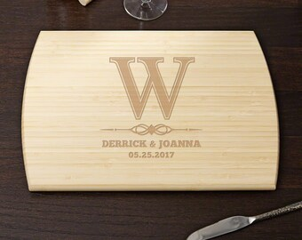 Lyndhurst Personalized Bamboo Cutting Board