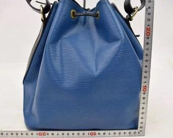 Authentic little Noah Louis Vuitton bi - color blue and black