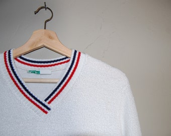 Vintage Terry Cloth Sweater