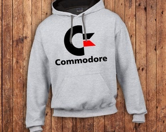 Commodore 64 retro Hoody, Vic 20, Vintage gaming PC, classic 1980's,