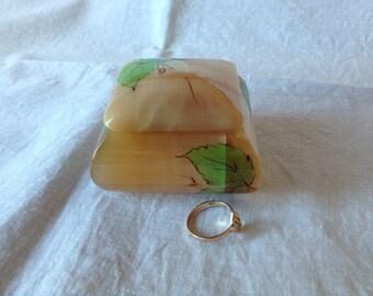 Ring Box. Engagement Ring Box. Jewelry Box.