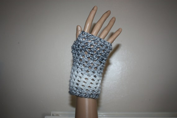 Knit Fingerless Gloves Pattern Straight Needles : Instant Download PDF Knitting Pattern, Fingerless Gloves / Mittens on Straigh...