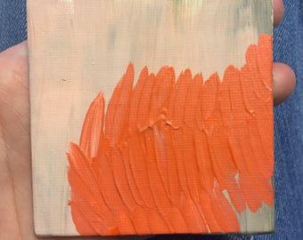 im unsure acrylic painting