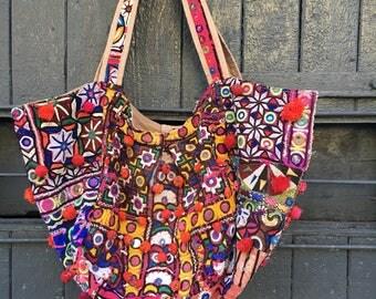 Gypsy, hippie hand made bag