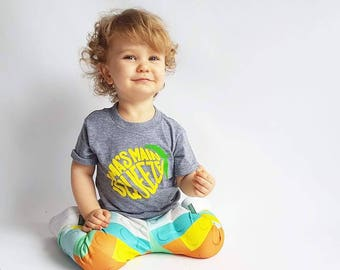 Kids Lemon Tee/ Kids Graphic Tee/ Main Squeeze T-Shirt