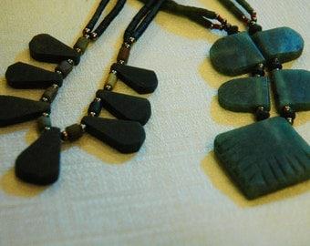 Gemstone Necklace - 14831/14839