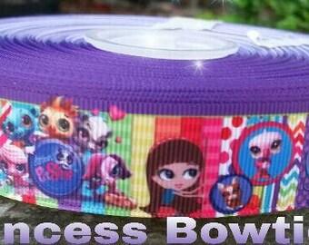Little pet shop ribbon, ribbon,  crafts. Little pet shop resins,  embellishments