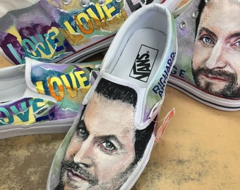 Customized shoes for fans of Richard Armitage in Love,Love,Love.