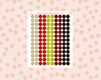 Ho Ho Christmas Dots (Small)