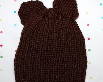 Baby Bear Newborn Hat