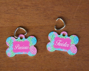 Personalized Pet Tags, Personalized Dog Tag, Custom Pet Tags, Custom Dog Tag, Personalized Pet ID Tag, Dog ID Tag