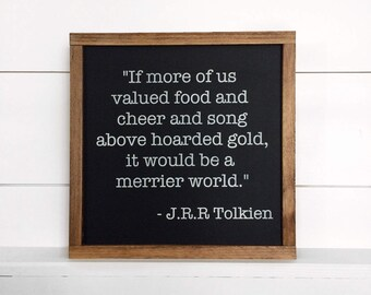 """14""""x14"""" Wood Sign 