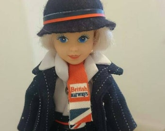 Boxed doll top condition vintage British airways advertising and marketing doll. Collectors item. Or toy.  These were made for play.