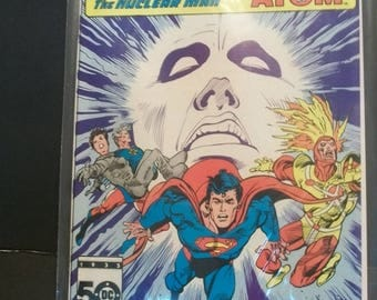 1985 DC Comics Presents #90 Superman & Firestorm The Nuclear Man And Captain Atom VF-NM  Vintage Comic Book