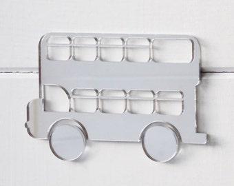 Double Decker Bus Acrylic Mirror