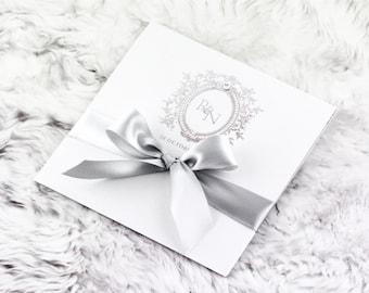 White Garden Invitation - Silver Edition